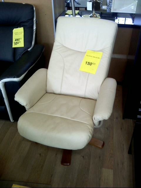 Fauteuil relax beige d 39 occasion - Fauteuil relax d occasion ...