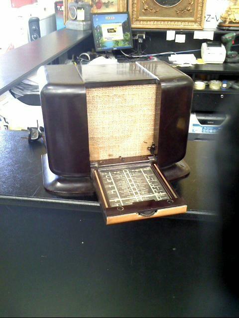 poste radio retro philips d 39 occasion. Black Bedroom Furniture Sets. Home Design Ideas