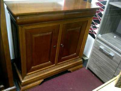 Meuble 2 portes 2 tiroirs style louis philippe d for Monsieur meuble portet sur garonne