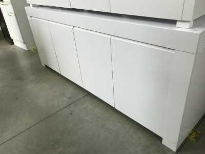 Buffet Design Blanc Mat Doccasion Troccom