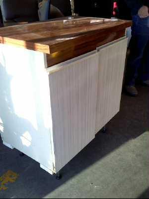 meuble de cuisine formica 2 portes d 39 occasion. Black Bedroom Furniture Sets. Home Design Ideas