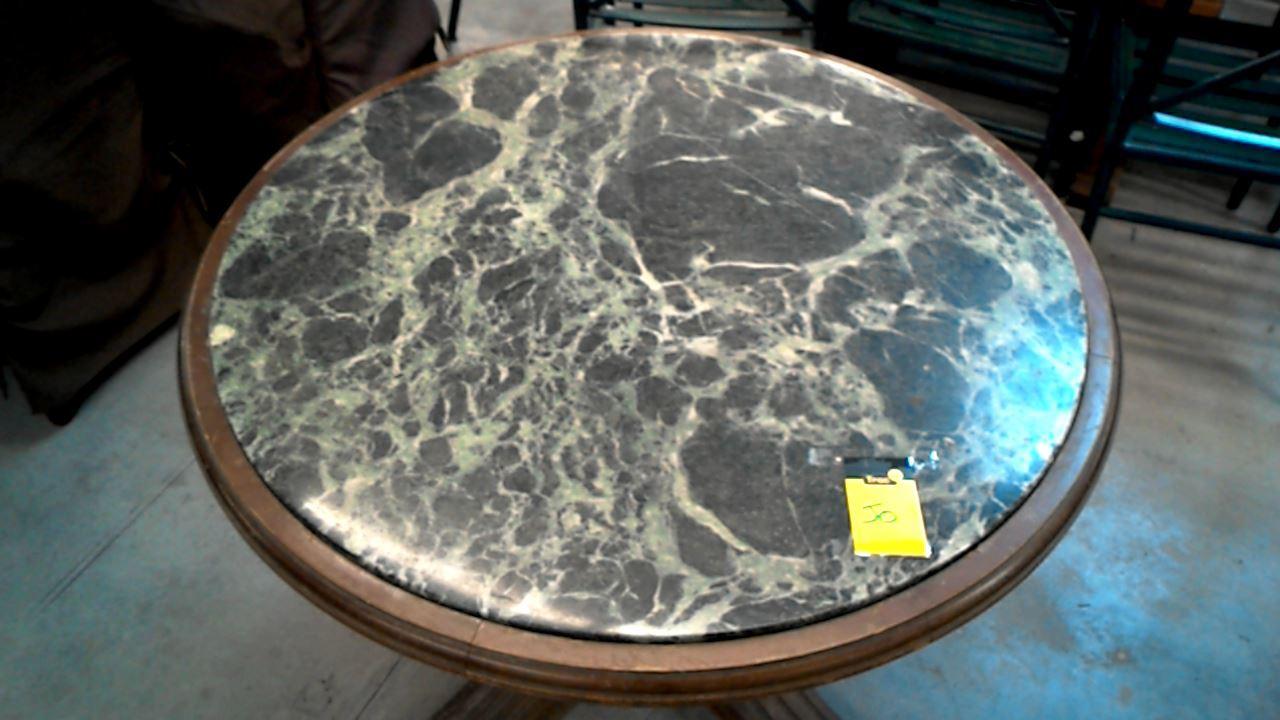 gueridon monte baisse plat marbre vert d 39 occasion. Black Bedroom Furniture Sets. Home Design Ideas