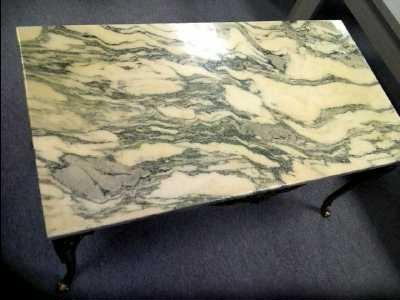 Table Basse Marbre Et Laiton Doccasion Troccom